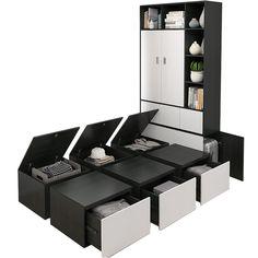 Box Bedroom, Small Bedroom Furniture, Box Storage, Under Bed Storage, Tiny Bedroom Design, Almirah Designs, Tatami Bed, Platform Bed Designs, Minimalist Bedroom