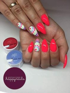 Pretty Ideas Of Colors for Nail Designs for Women 2019 Gel Nail Art, Acrylic Nails, Nail Polish, Funky Nails, Trendy Nails, Gel Nagel Design, Pretty Nail Colors, Hot Nails, Nagel Gel