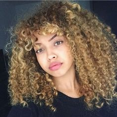 curly hair of girls — chanel-and-louboutins: ...