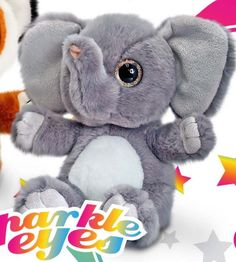 Keel SW4663 Sparkle Eyes Elephant Medium