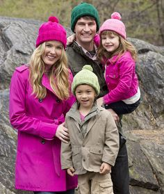 Knit Family Hats