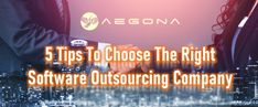 5 Tips To Choose The Right Software Outsourcing Company - Aegona Web Application Development, Software Development, Choose The Right, Ho Chi Minh City, Good Company, Neon Signs, Tips, Hacks, Counseling