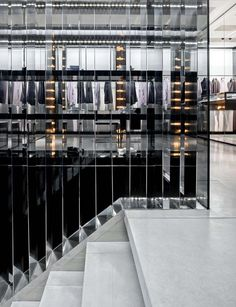 Dior Homme newly renovated flagship store in New York, 17 E 57th Street _