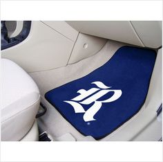 RICE UNIVERSITY .. Don't leave your school spirit at home...take it on the road with the NCAA carpeted car mats from Fanmats! Protect your vehicle's flooring while showing your team pride with car mats by FANMATS. 100% nylon face with non-skid vinyl backing. Universal fit makes it ideal for cars, trucks, SUVs, and RVs.$26.95
