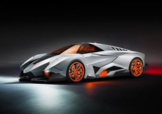 Lamborghini Egoista has a seat that ejects like a military aircraft