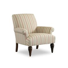 Sam Moore Luxton Club Chair Finish: Classic, Upholstery: 2200 Spa