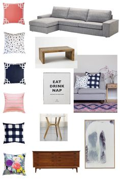 family room refresh & caitlin wilson textiles giveaway!