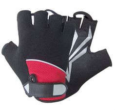 half fingered gloves, also known as track mitts, are an essential item for any cyclist. Palm: Amara ( Synthetic Leather )Washable Air Dry. Silicon Amara with Gel Rubber Protection Back: Neoprene, Fourway Spandex,Terry Towel Fabric,Neoprene Velcro Closure Stripe.