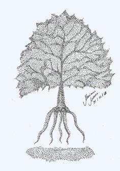 #mouram_ #Ilustração #Pontilhismo 2012 - Mariane Moura Ilustração Pointillism, Drawings, Drawing Drawing