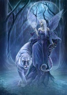 Blue Fairy & Tiger