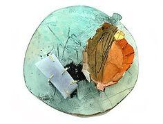 Brooke Marks-Swanson, brooch, copper, acrylic