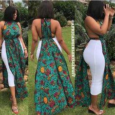African summer dress / african print maxi dress / ankara maxi dress / African clothing for women / ankara women clothing / african kitenge African Dresses For Kids, Latest African Fashion Dresses, African Print Dresses, African Print Fashion, Ankara Fashion, Africa Fashion, African Prints, African Fabric, Modern African Dresses