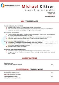 Strengths For Resume A Professional Public Service Resumes Writer Will Be Experienced In .