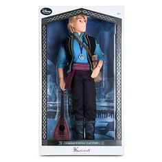Limited Edition Kristoff Doll - Frozen - 18'', The ice man,  Item No. 6070040901178P, $119.95