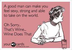 that's definitely wine....