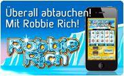 Robbie Rich - überall abtauchen mit win2day Mobile Spiele!