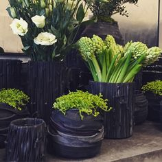 """""""Awesome new containers made of recycled bicycle inner tubes. #shop901 #memphisflorist #recycle #whatsoldisnew #gardendistrictmemphis"""" Photo taken by @gardendistrict_memphis on Instagram, pinned via the InstaPin iOS App! http://www.instapinapp.com (02/25/2015)"""