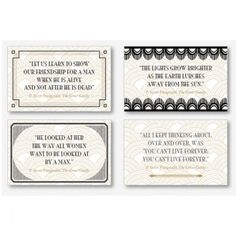 The Gatsby Birthday Party Collection perfect for those seeking adult birthday party ideas! Roaring 20s Birthday Party, Adult Birthday Party, Birthday Party Themes, 26th Birthday, Birthday Ideas, Prohibition Party, Speakeasy Party, Gatsby Quotes, Great Gatsby Party