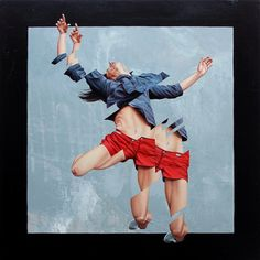 The Falling by James Bullough - Paintings by James Bullough  <3 <3