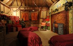 Aspects Photography: Santa's Log Cabin Grotto at Waldron (A Village Christmas) Christmas Villages, City Life, Christmas Diy, Santa, Outdoors, Cabin, Decorations, Architecture, Photography