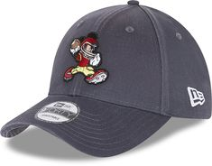 Mickey Mouse New Era 940 Disney Character Sports  Grey Cap - Grey