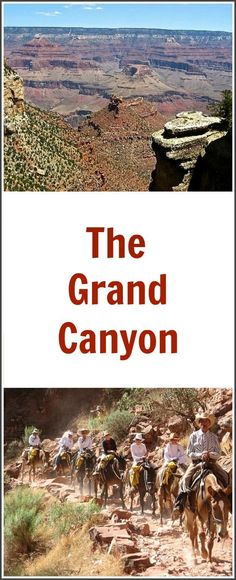How to spend 4 days in the Grand Canyon - 2 days on the North Rim and 2 days on the South Rim.