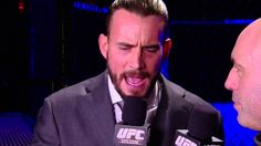 First official statements made by CM Punk