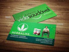 Cartões de visita - Herbalife - Store R3