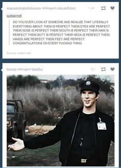 accurate post is accurate. /// Congratulations on every fucking thing Benedict.