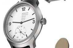 Swiss-Made Smartwatch Inspired By Helvetica Font