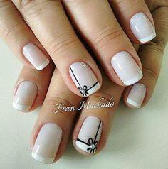 French Tip Nail Art, French Nail Designs, Nail Art Designs, Cute Spring Nails, Fall Nail Colors, Halloween Nail Art, Prom Nails, Nail Trends, Love Nails