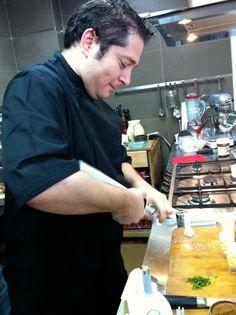 Chef Gaspar Fuster #tallerdecocina #sifon #espumas #Isi