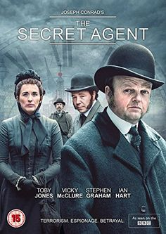 Toby Jones & Vicky McClure & Charles McDougall-The Secret Agent Best Period Dramas, Period Drama Movies, Movies To Watch, Good Movies, 80s Movies, Cinema Movies, Indie Movies, Detective, Movies Worth Watching