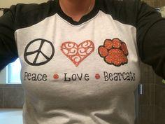 School Spirit Shirt//Teacher Shirt//Peace Love School Spirit by HannaHartdesigns on Etsy https://www.etsy.com/listing/456565748/school-spirit-shirtteacher-shirtpeace