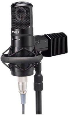 Sony C800GPAC Studio Tube Condenser Microphone