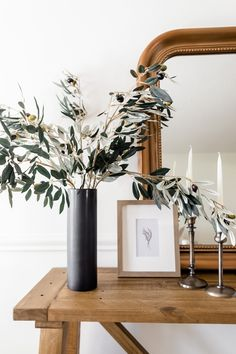 Refresh your space for fall with a few artificial greenery branches. These fake olive leaves are the perfect addition to any space. Shop artificial everyday greenery stems at Afloral.com.