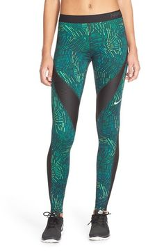 Nike 'Pro Hypercool - Tidal' Tights available at #Nordstrom