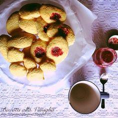 Sciroppo Di Lampone: Biscotti alla Vaniglia