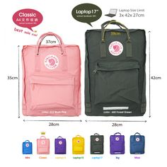Size difference in Kanken mini and kanken kids Mochila Kanken, Japan Tourism, Kawaii Bags, Cute School Supplies, What In My Bag, Cute Backpacks, Jolie Photo, Cute Bags, My Bags