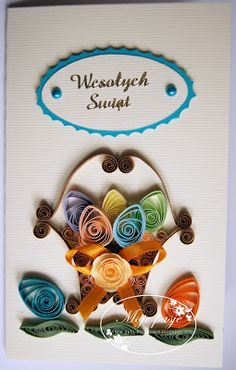 Yes, awesome card! Quilling is so fun!