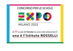 EXPO SCUOLA 2015 Selezionata dal MIUR del Veneto per i lavori di grafica e multimediali presentati al concorso Expo Scuola. Presentazione dei progetti martedì 10 marzo 2015 a Padova.