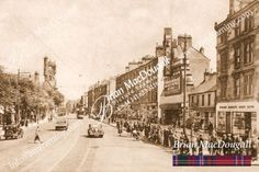 RG047 – Rutherglen Main Street-from-Glasgow Road with Odeon Cinema
