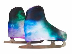 Protect your ice or roller skates from scratches! Shop now our skate boot covers in many fun colors and prints! Roller Skating, Ice Skating, Aesthetic Galaxy, Figure Skating Dresses, Rubber Rain Boots, Bff, Pairs, Sport, Skates