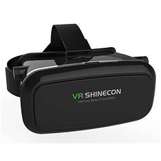 Highway 3D VR Shinecon Video Glasses Virtual Reality 3D Glasses Helmet for iPhone Samsung 476 inch Smartphone Black * You can find more details by visiting the image link.Note:It is affiliate link to Amazon.