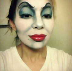 Ursula makeup :D