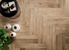 Interior, Classic Medium Angled Wooden Floor Tiles: Tile And Wood Flooring Ideas Wood Tiles Design, Wooden Floor Tiles, Wood Floor Design, Wood Interior Design, Wood Tile Floors, Wood Look Tile, Wall And Floor Tiles, Timber Flooring, Vinyl Flooring