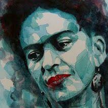 Frida Kahlo by Paul Lovering
