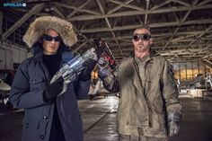 "#TheFlash 1x10 ""Revenge of the Rogues"" - Captain Cold and Heat Wave"