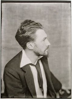 Man Ray - Portrait of Ezra Pound, Paris 1923