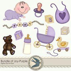 Digital Clip art Pack   Bundle Of Joy  by TheBarnSwallowDesign, $2.50